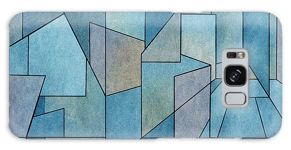 Galaxy Case featuring the digital art Geometric Abstraction IIi by David Gordon