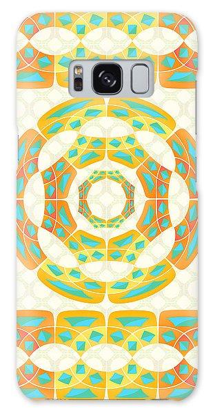 Geometric Composition Galaxy Case by Gaspar Avila