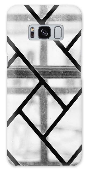 Galaxy Case featuring the photograph Geometric Glasswork by Christi Kraft