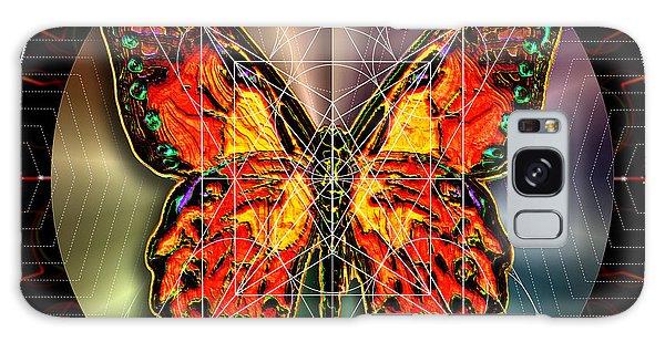 Geometron Fyr Lepidoptera Galaxy Case