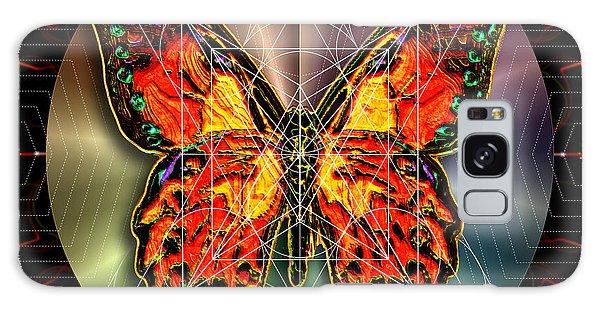 Geometron Fyr Lepidoptera Galaxy Case by Iowan Stone-Flowers