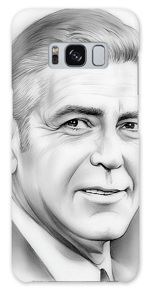 Hollywood Galaxy Case - George Clooney by Greg Joens