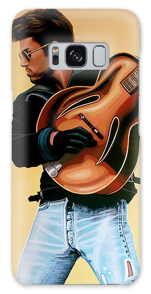 Elton John Galaxy S8 Case - George Michael Painting by Paul Meijering