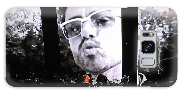 George Michael Sends A Kiss Galaxy Case by Toni Hopper