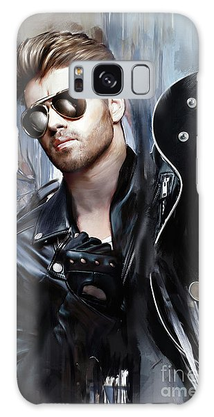 Elton John Galaxy S8 Case - George Michael Singer by Melanie D