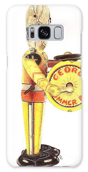 George The Drummer Boy Galaxy Case