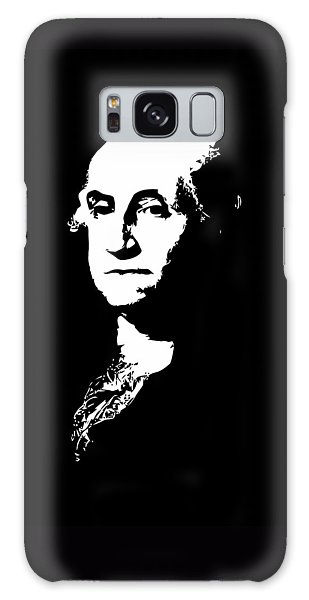 George Washington Galaxy Case - George Washington Black And White by War Is Hell Store