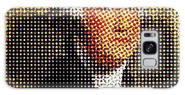 George Washington In Dots  Galaxy Case by Paulo Guimaraes