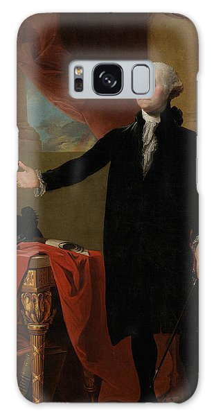 Portraits Galaxy Case - George Washington Lansdowne Portrait by War Is Hell Store