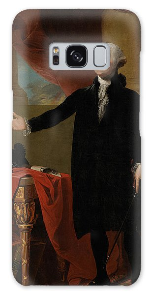 George Washington Lansdowne Portrait Galaxy Case by War Is Hell Store