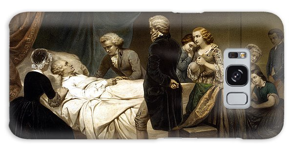 George Washington Galaxy Case - George Washington On His Deathbed by War Is Hell Store