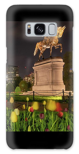 George Washington Standing Guard Galaxy Case