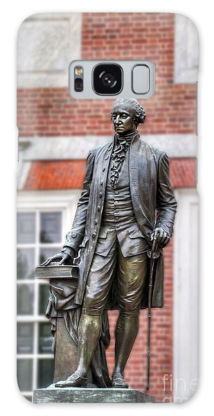 George Washington Statue Galaxy Case