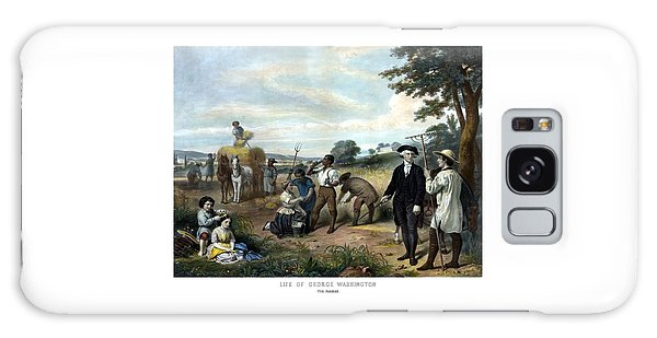 George Washington Galaxy S8 Case - George Washington The Farmer by War Is Hell Store