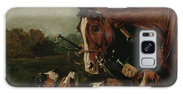 Whip Galaxy Case - George Wateridge, Huntsman To The New Forest Buckhounds by John Emms