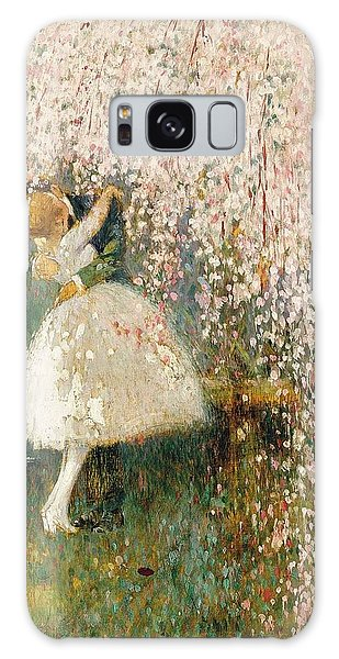 Georges Picard French 1857 1946 Romance Under The Blossom Tree Galaxy Case