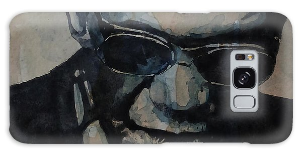 Rock And Roll Galaxy S8 Case - Georgia On My Mind - Ray Charles  by Paul Lovering
