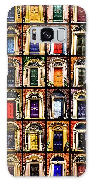 Georgian Doors Of Dublin 3 Galaxy Case by Lexa Harpell
