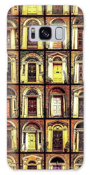 Georgian Doors Of Dublin 4 Galaxy Case