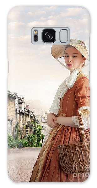 Georgian Period Woman Galaxy Case