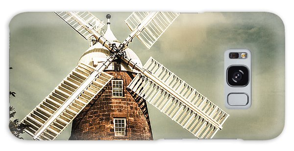 Galaxy Case featuring the photograph Georgian Stone Windmill  by Jorgo Photography - Wall Art Gallery
