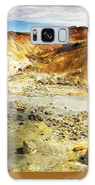 Landscapes Galaxy Case - Geothermal Area In Reykjanes Iceland by Matthias Hauser