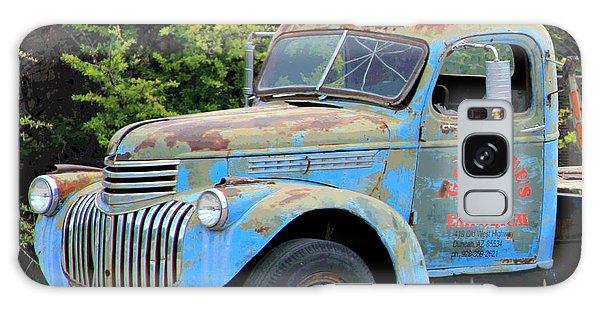 Geraine's Blue Truck Galaxy Case