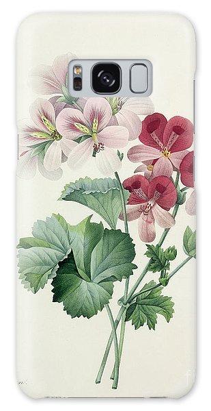 Plants Galaxy Case - Geranium Variety by Pierre Joseph Redoute