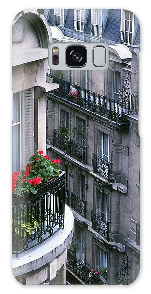 Geraniums - Paris Galaxy Case