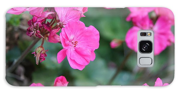 Geraniums Galaxy Case