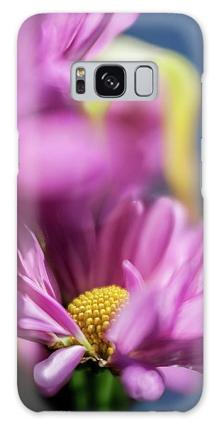 Gerber Daisy In Purple Galaxy Case