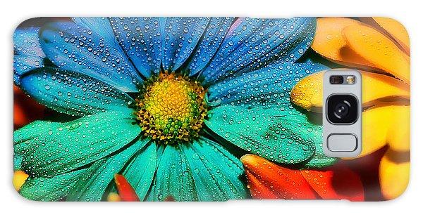Gerbera Daisy Galaxy Case by Tina LeCour
