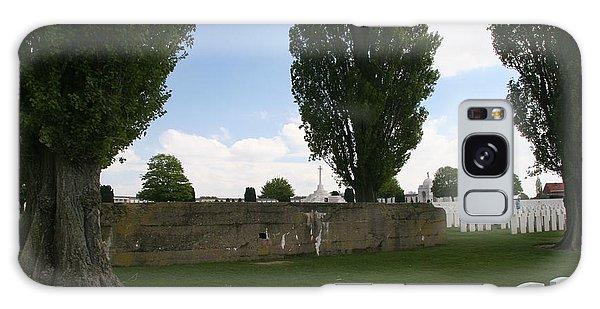 German Bunker At Tyne Cot Cemetery Galaxy Case