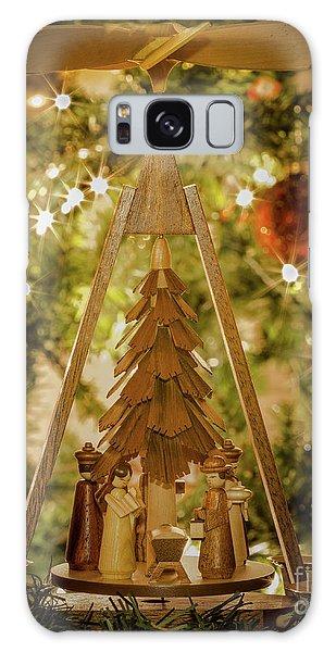 German Christmas Pyramid Galaxy Case