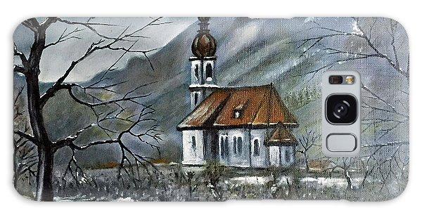 German Church At Ramsau  Galaxy Case