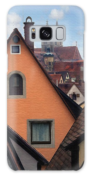 German Rooftops Galaxy Case