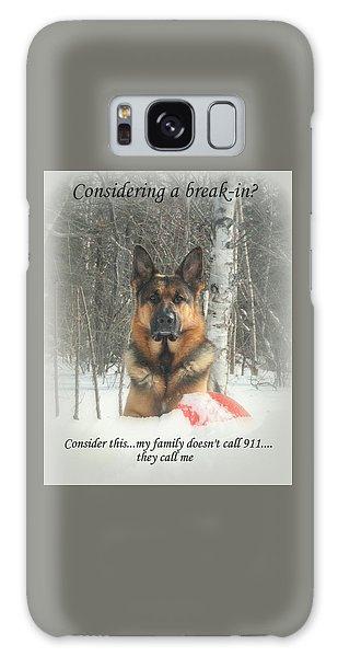 German Shepherd 911 Galaxy Case