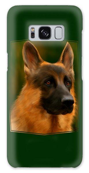 German Shepherd Galaxy Case