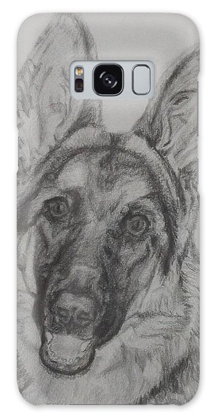 German Shepherd  Galaxy Case