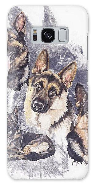 German Shepherd Medley Galaxy Case