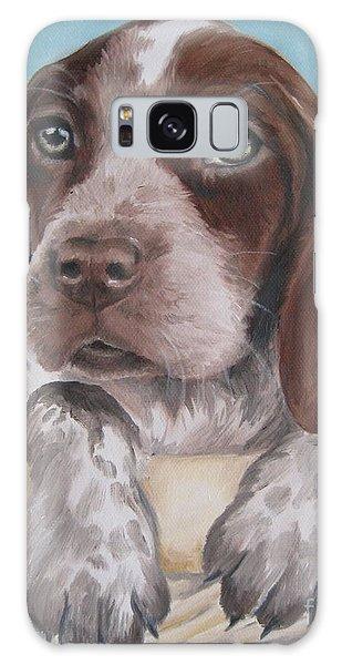German Shorhaired Pointer Puppy Galaxy Case