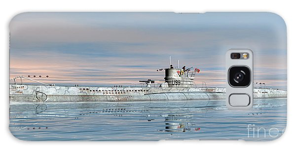 German Submarine U-99 Galaxy Case
