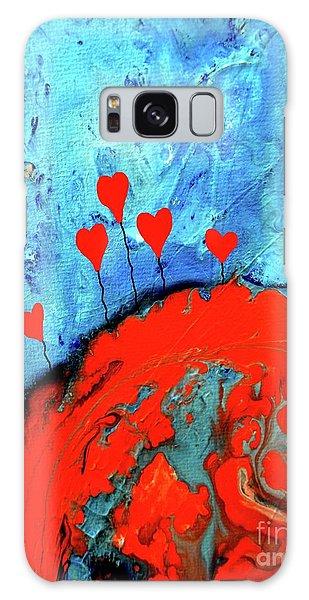 Germinating Love Galaxy Case by Saribelle Rodriguez