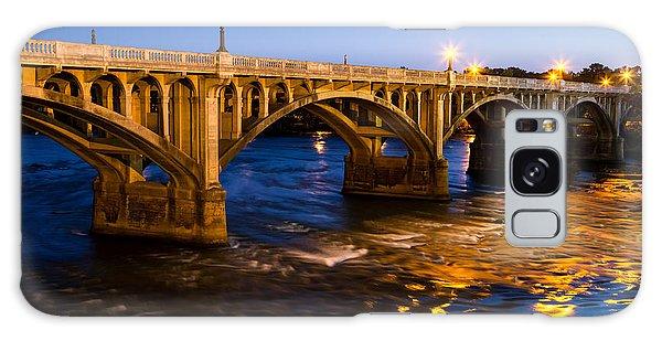 Gervais Street Bridge At Twilight Galaxy Case