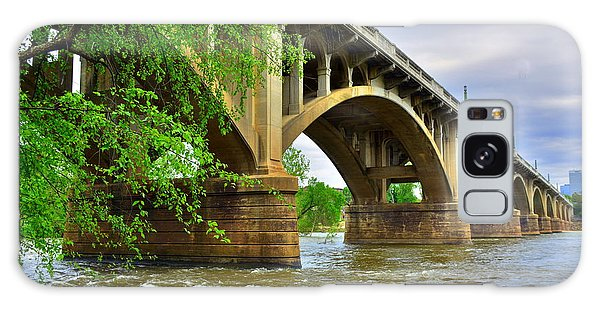 Galaxy Case featuring the photograph Gervais Street Bridge by Lisa Wooten