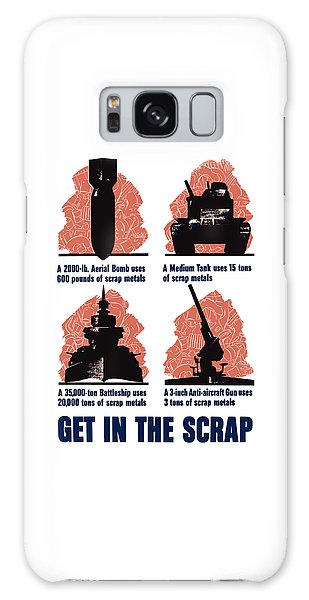 Metal Galaxy Case - Get In The Scrap - Ww2 by War Is Hell Store