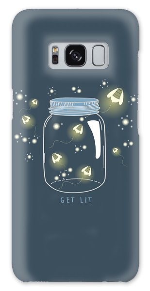 Get Lit Galaxy Case by Heather Applegate
