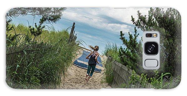 Get To The Beach Galaxy Case