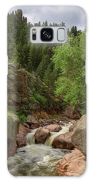 Galaxy Case featuring the photograph Getting Lost In A Canyon Creek by James BO Insogna