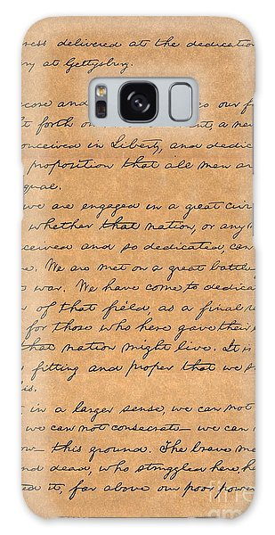 Gettysburg Address Galaxy Case
